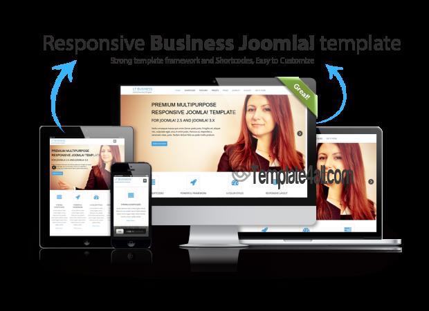 LT Business – Free Responsive Joomla Template