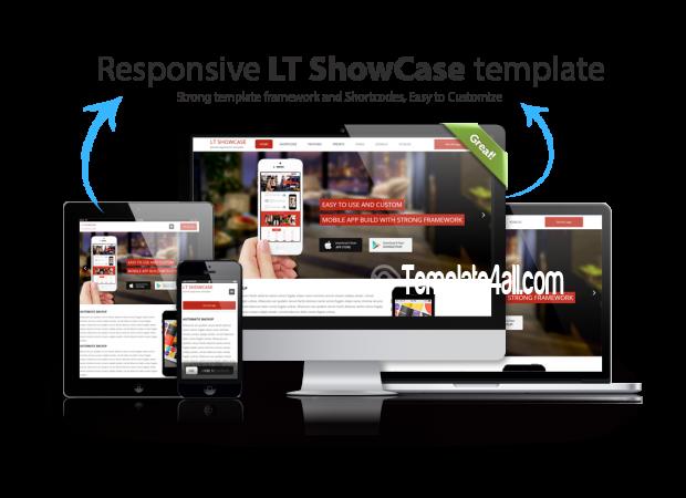 Responsive App Showcase Joomla Template