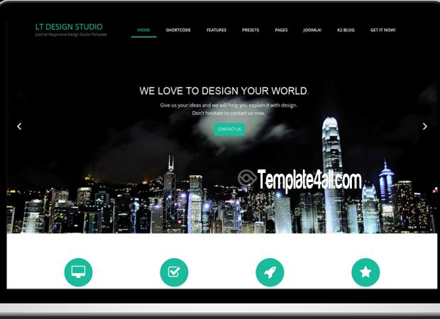 Responsive Design Studio Joomla Template