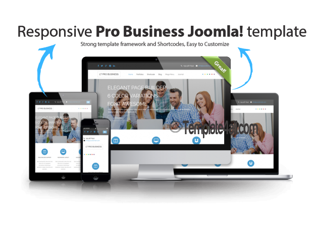 Responsive Corporation Business Joomla Template