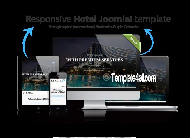 Responsive Resort Hotel Joomla Template
