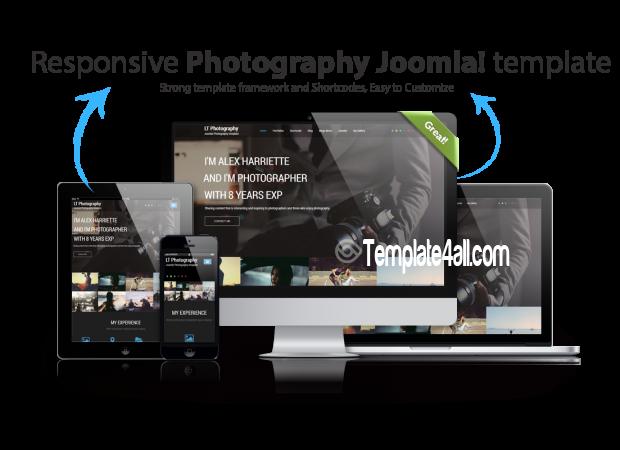 Responsive Photography Joomla Template Download