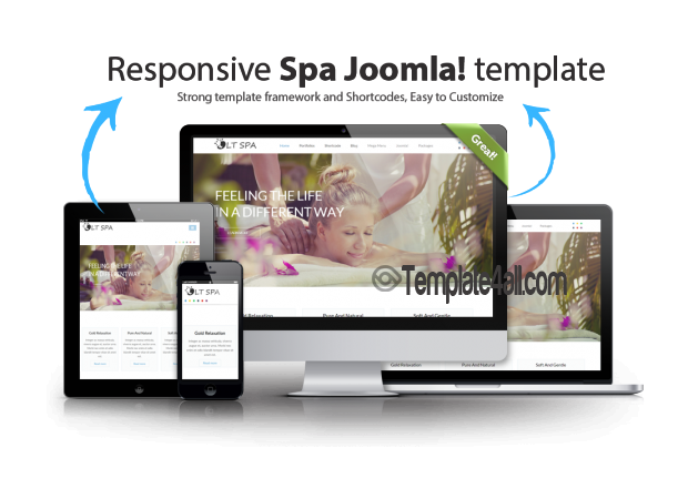 Spa Massage Joomla Template