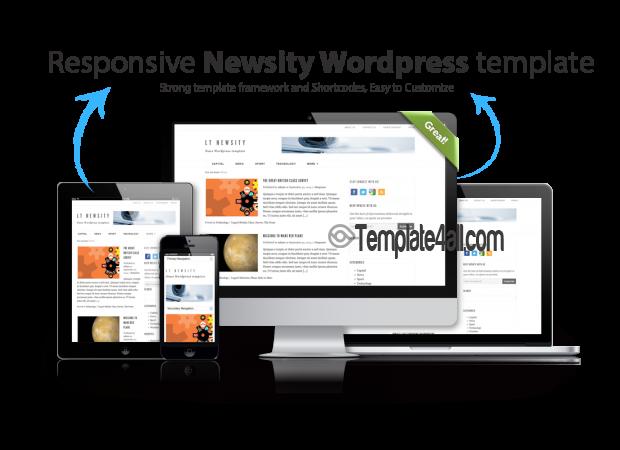Newsity Responsive Blog Magazine WordPress Theme Templates