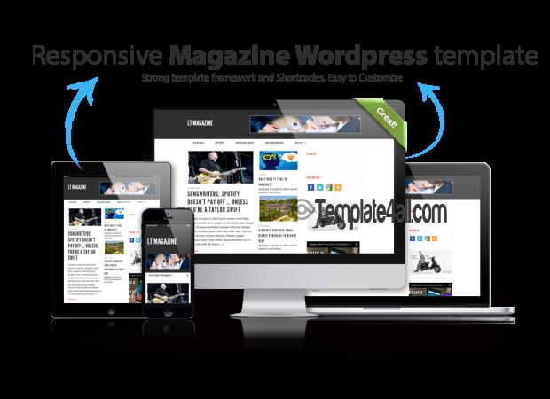 LT Magazine – Responsive Magazine WordPress Theme