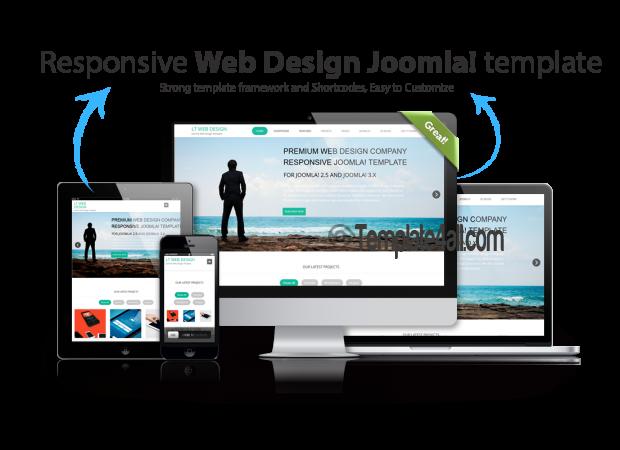 LT Responsive Web Design WordPress Theme