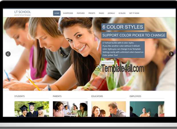Responsive College School WordPress Theme