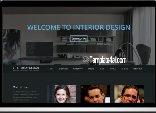 LT Responsive Interior Design WordPress Theme