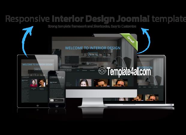 Free Responsive Interior Design WordPress Theme