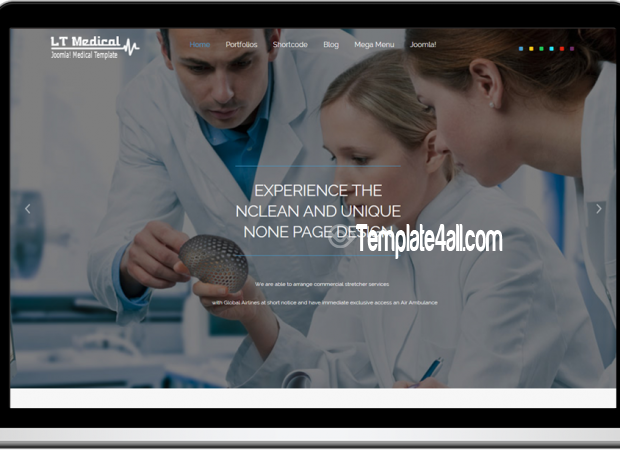 LT Free Responsive Hospital Medical WordPress Theme