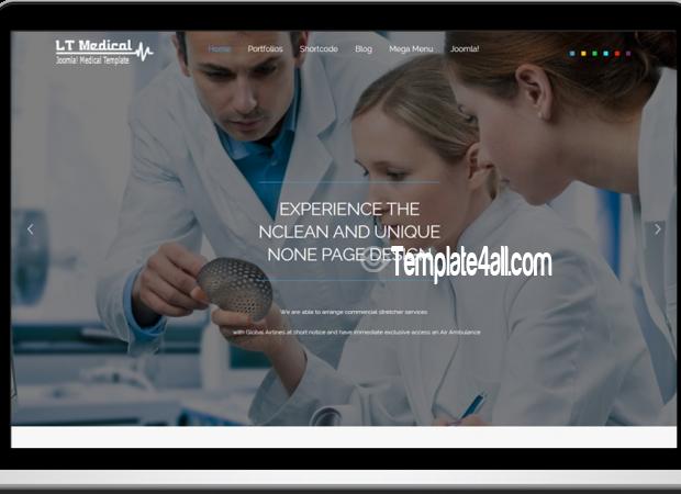 LT Free Hospital Medical WordPress Theme