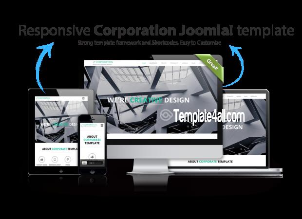 LT Free Company Corporation WordPress Theme