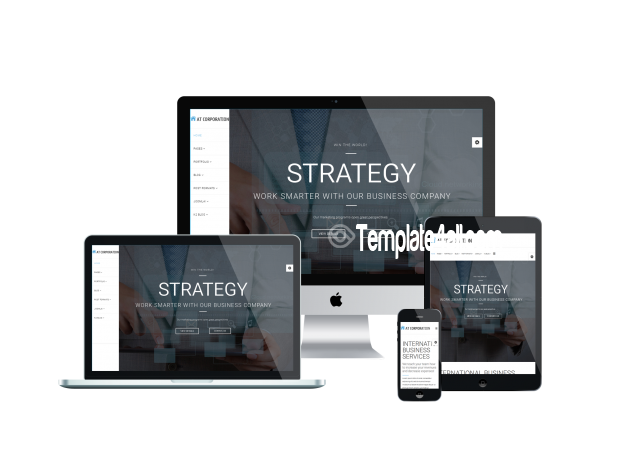 AT Corporation Company Onepage Joomla Template