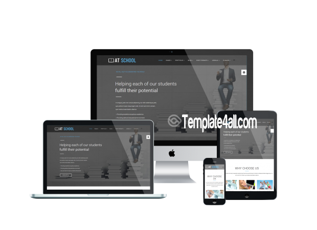 AT Free College School Joomla Template