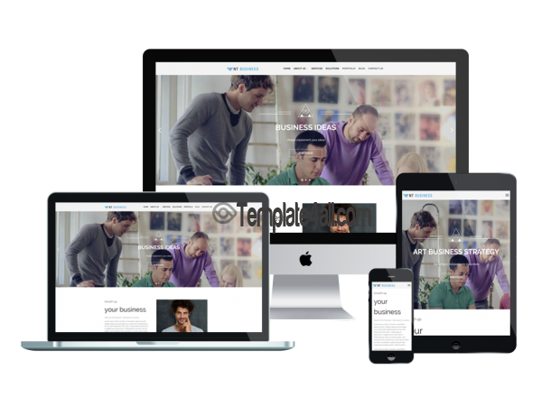 Responsive Free Corporation WordPress Theme