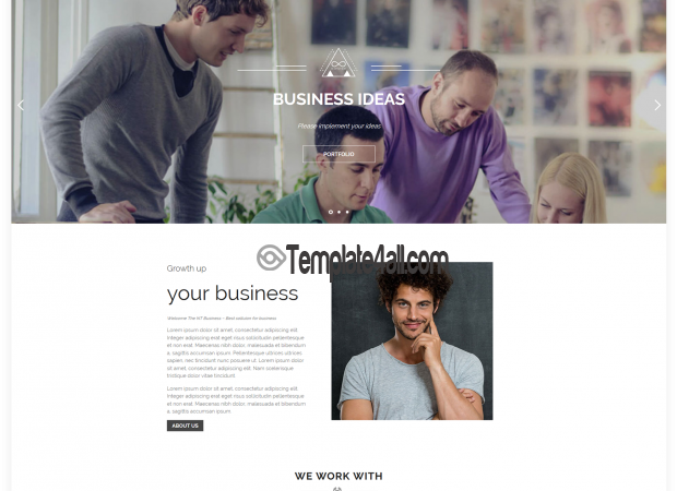 NT BUSINESS – Free Corporation WordPress Theme