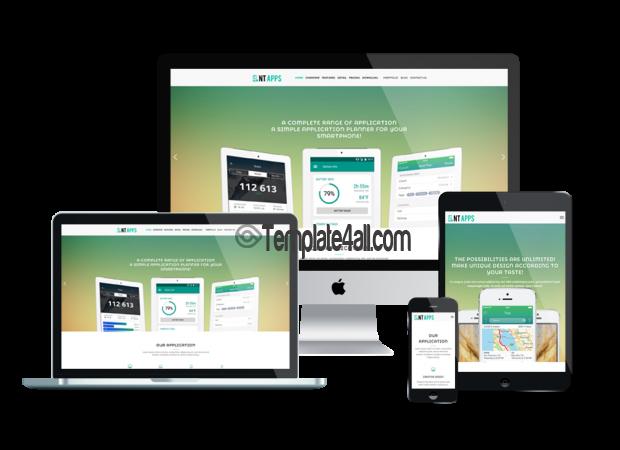 App Free Application Showcase Wordpress Theme