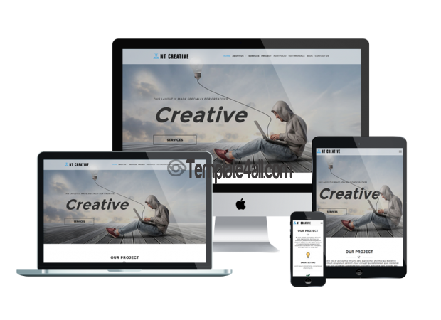 Free Responsive Design Creative Wordpress Theme