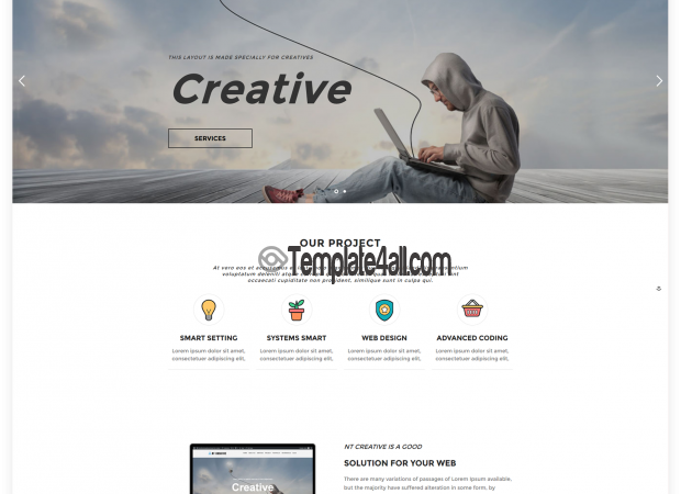 Free Design Creative Wordpress Theme