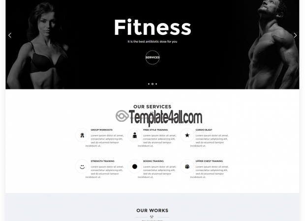 NT Fitness Free Yoga Gym wordpress Theme