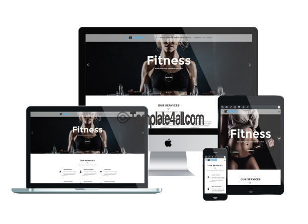 Free Responsive Yoga Gym wordpress Theme