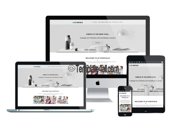 Responsive NT Creative Portfolio Free Wordpress Theme