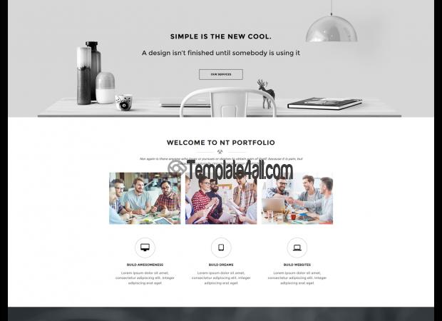 NT Creative Portfolio Free Wordpress Theme