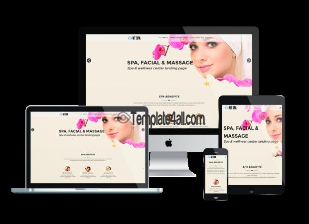 Responsive Free Sauna Beauty Wordpress Theme