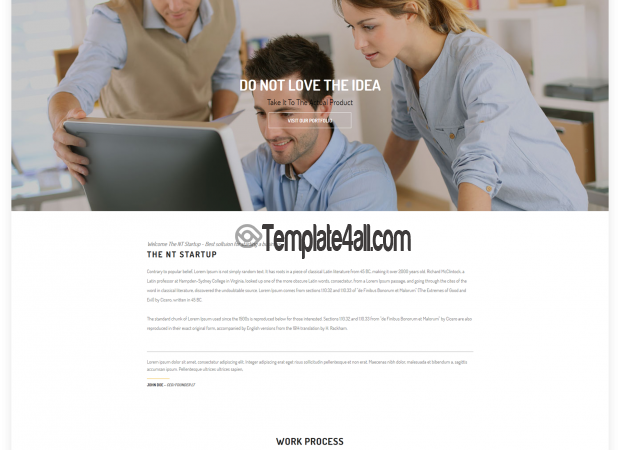 NT Free Business Start Up Wordpress Theme