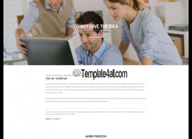 NT Free Business Start Up Wordpress Theme