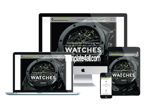 Responsive NT Free Watches Online Shop Wordpress Theme