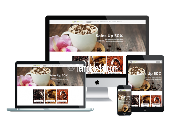 Free Cafe Coffee Shop Wordpress Theme