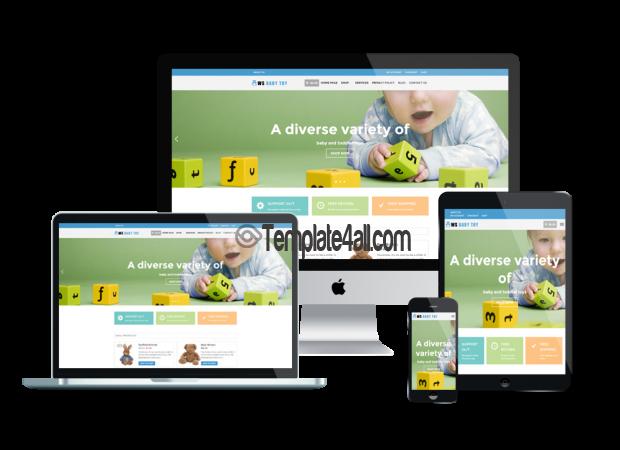 Responsive WS Toy Free WordPress WooCommerce Kids Theme