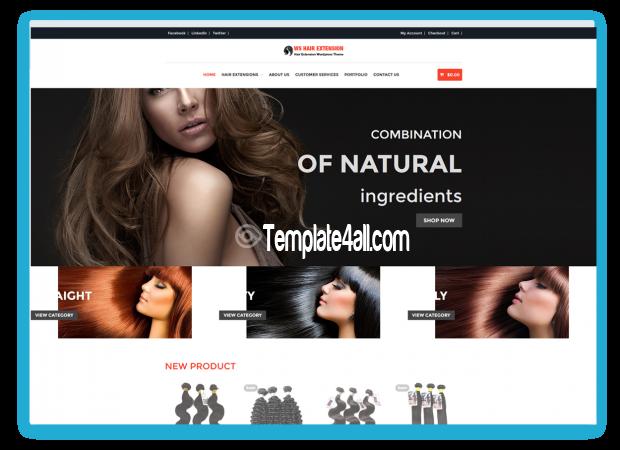 WS Hair Responsive Spa Salon Wordpress Theme