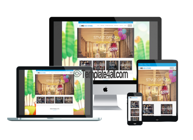Responsive WS Free Responsive Kids Woocommerce Theme