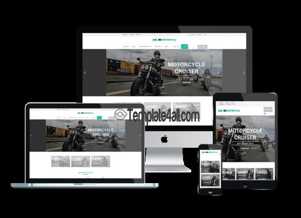 Responsive Motorcycle Free Responsive Motorbike Wordpress Theme