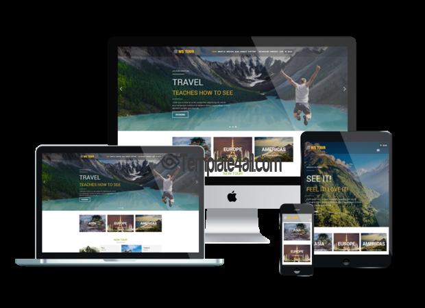 Responsive Travel Booking Wordpress Theme