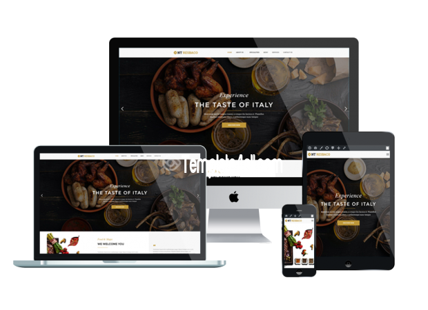 Responsive Restaurant Bar Coffee Wordpress Theme
