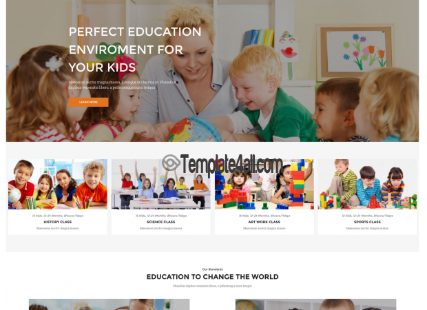 NT Priskul Free Education School WordPress Theme