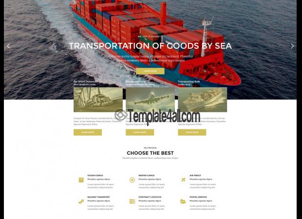 NT Transpik Free Automotive Transport WordPress Theme