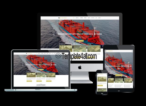 Responsive NT Transpik Free Automotive Transport WordPress Theme