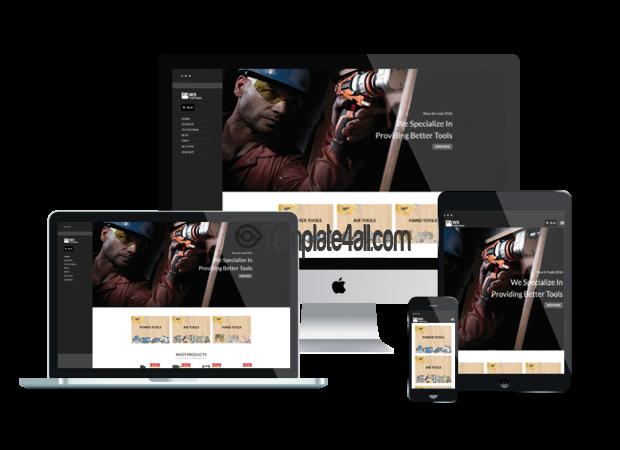 Responsive Tools Equipment Wordpress Theme