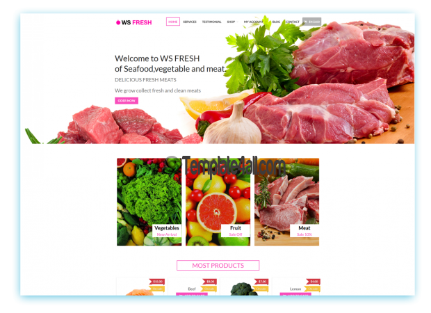 Clean WS FRESH Free Responsive Agriculture Wordpress Theme