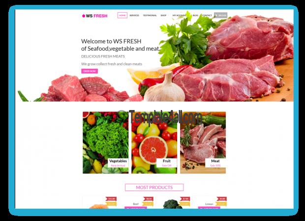 WS Free Responsive Agriculture Wordpress Theme
