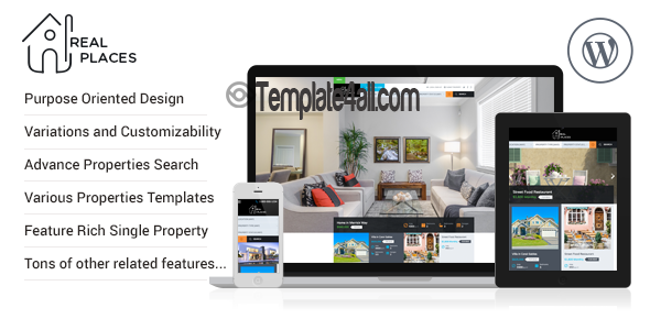 Real Places Wordpress Theme