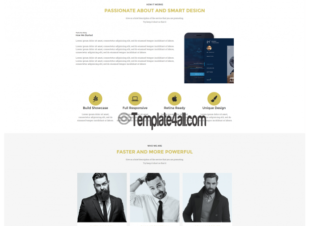 Responsive NT Appro Premium Product Presentation WordPress Theme