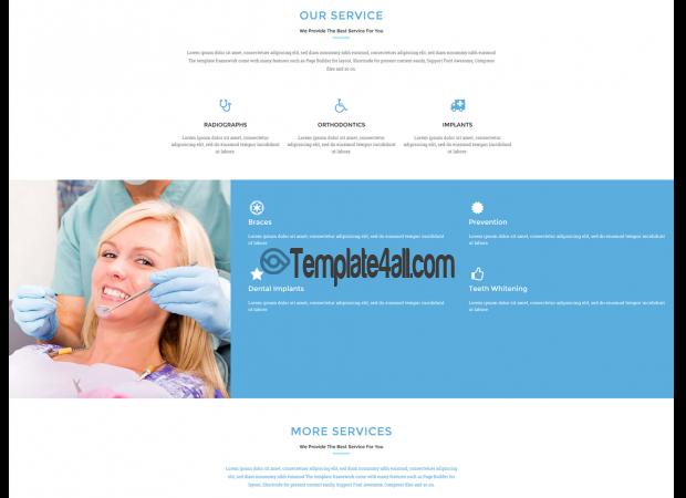 NT Free Premium Medical Dental WordPress Theme