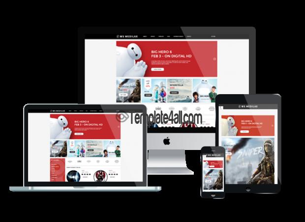 Responsive online audio store WordPress theme